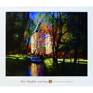 アート ポスター フレーム付 【Chateau D'Annecy】 Artist/Hayslette Size/700×815mm|frame-shop
