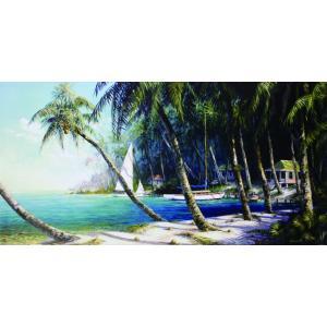 アート ポスター フレーム付 【Bail Cove】 Artist/Fronckowiak Size/510×1017mm|frame-shop