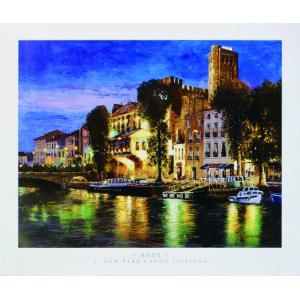 アート ポスター フレーム付 【Agde】 Artist/Park,S.Sam Size/688×815mm|frame-shop