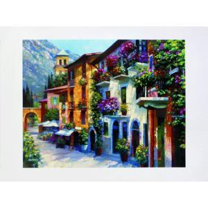 アート ポスター フレーム付 【Village Hideaway】 Artist/Behrens Size/687×915m|frame-shop