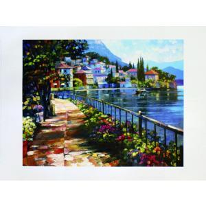 アート ポスター フレーム付 【Sunlit stroll】 Artist/Behrens Size/685×915m|frame-shop