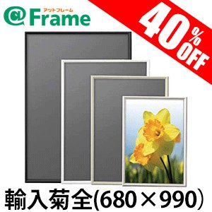 ポスターフレーム シェイプ 輸入菊全(680×990mm)|frame-shop