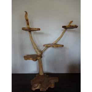 家具 アジアン家具 バリ家具 飾り棚 ディスプレイラック 古木 古材 流木 アジアンインテリア