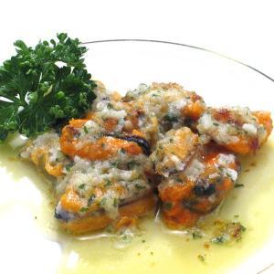 ムール貝のブルギニヨンバター焼き