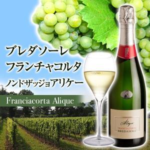 フランチャコルタ ノン ドザッジョ アリケー / ブレダソーレ(イタリア・スパークリングワイン) 750ml|franciacorta
