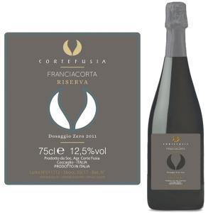 フランチャコルタ リゼルヴァ 2011 / コルテ フジア(イタリア・スパークリングワイン) 750ml|franciacorta