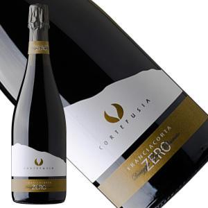 フランチャコルタ ドザッジオ ゼロ ミッレジマート 2013 スパークリングワイン 辛口 イタリア コルテ フジア|franciacorta