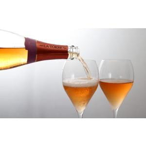 女性へのプレゼントに最適 イタリア最高級スパークリングワイン フランチャコルタ ロゼ / ラ・トッレ 750ml|franciacorta|04