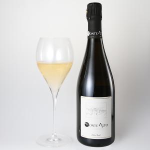 イタリア最高級スパークリングワイン フランチャコルタ エクストラブリュット NV / モンテ アルト 750ml|franciacorta