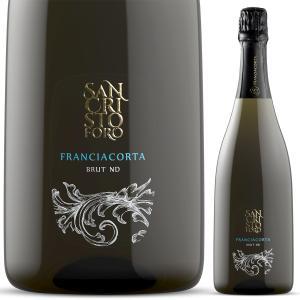 フランチャコルタ NDブリュット / サンクリストーフォロ(イタリア・スパークリングワイン) 750ml|franciacorta