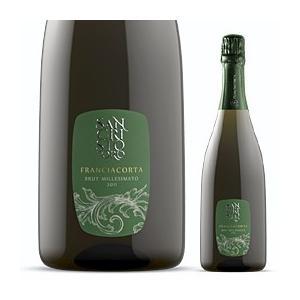 父の日ギフト 男性プレゼントに最適 イタリア最高級スパークリングワイン フランチャコルタ ミッレジマート 2013 / サンクリストーフォロ 750ml|franciacorta