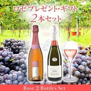 フランチャコルタ ロゼ プレゼント・ギフト2本セット / (イタリア・スパークリングワイン)|franciacorta