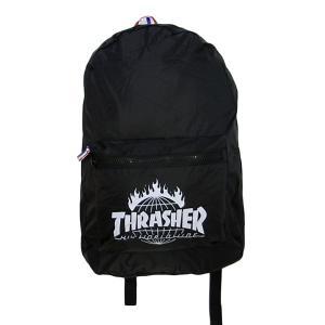 d153ec20eb06 HUF ハフ × THRASHER スラッシャー TDS PACKABLE BACKPACK バッグパック