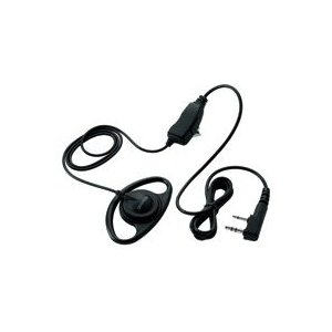 ケンウッド UBZ-EA20R/UBZ-LM20対応オプション EMC-7 イヤホン付きクリップマイクロホン(耳掛けタイプ)|frc-net