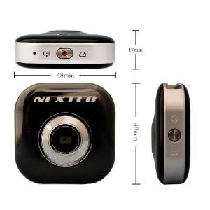 【送料無料】100万画素 Wi-Fi ドライブレコーダー / アクションカメラ NX-DRW10H【Ustream対応/超小型/超軽量38g】|frc-net|04