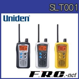 【免許不要】ユニデン Uniden 特定小電力トランシーバー SLT001【防水・VOX機能】|frc-net