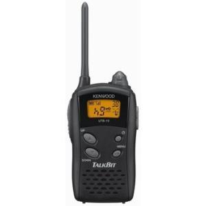 【送料無料】JVCケンウッド TALKBIT トークビット 免許資格不要 特定小電力トランシーバー UTB-10|frc-net