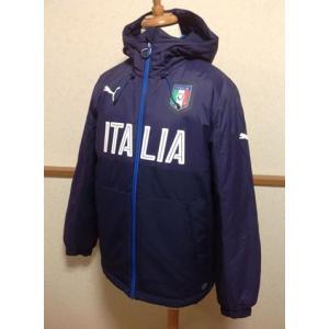 FIGCイタリア代表公式ベンチコート。PUMAプーマとサッカーイタリア代表のコラボアイテムです。  ...