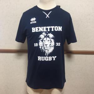 エレア errea ラグビー トレーニングウェア BENETTON ベネトン トレヴィーゾ 18/19 公式Tシャツ|freak-10