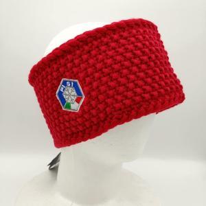 カッパ Kappa ヘッドバンド 防寒 スキー スノーボード ウェア FISI イタリア代表 赤|freak-10