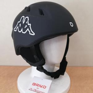 キズあり B品 ブリコ BRIKO カッパ Kappa コラボ スノーヘルメット|freak-10
