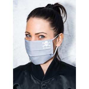 ザンクトパウリ マスク フィルターポケット付き チーム公式グッズ グレー 男女兼用|freak-10