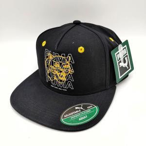 PUMA NYC プーマ・ニューヨーク 帽子 スナップバック キャップ ブラックキャット オリジナル商品 freak-10