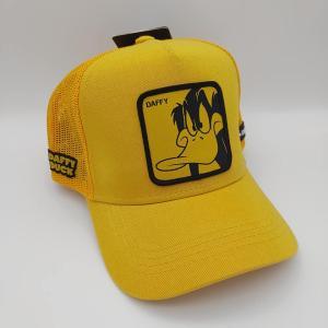 キャップスラボ Capslab メッシュキャップ ダフィー・ダック ルーニー・テューンズ トラッカーキャップ 黄色 freak-10