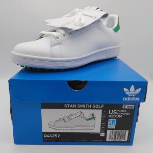 アディダス adidas Golf ゴルフ スタンスミス シューズ 靴 Stan Smith Golf Shoe 白/緑 Q46252 freak-10