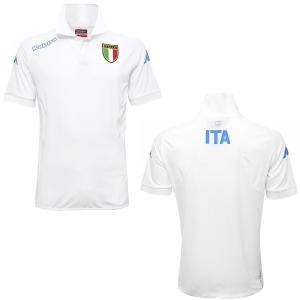 カッパ Kappa FIG イタリア代表 2016 ゴルフウェア KOMBAT 白 ゴルフ ポロシャツ 半袖 freak-10