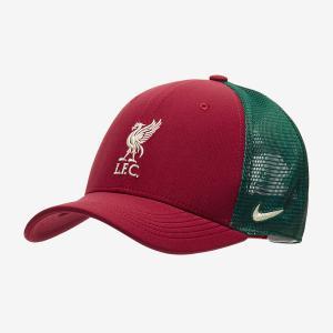 リバプールFC 21/22 トラッカーキャップ 赤×緑 C99 ナイキ NIKE サッカー クロップ監督|freak-10