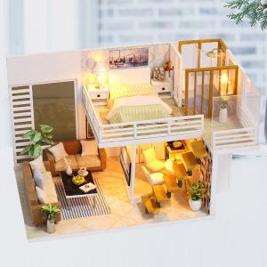 ドールハウス 手作りキットセットミニチュア Simple and elegant t-FREAK