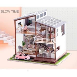 ドールハウス 手作りキットセットミニチュア SLOW TIME t-FREAK