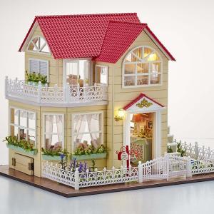 ドールハウス 手作りキットセットミニチュア プリンセスコテージ Princess Cottage t−FREAK