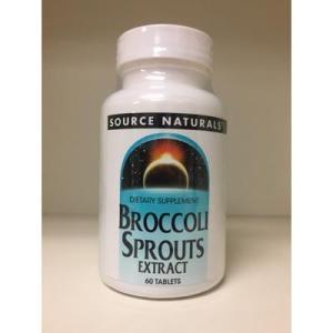 ブロッコリースプラウト 60粒 1個 スルフォラファン 250mg Sourse Naturals 普通便|freakshop