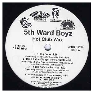 THE 5TH WARD BOYZ - I Know / Live Your Life (Usual...