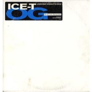 ICE-T - O.G. ORIGINAL GANGSTER 2xLP US 1991年リリース