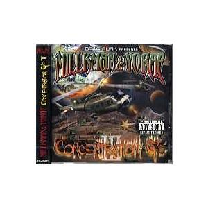 DJ MILLKMAN & DJ YORAE - CONCENTRATION G'S III CD JAPAN 2006年リリース