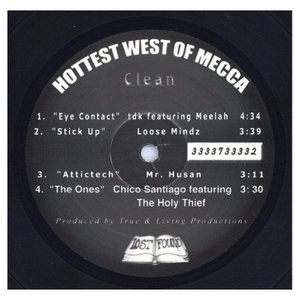 TDK feat Meelah / Loose Mindz - Eye Contact / Stick Up (Hottest West Of Mecca-EP) EP US