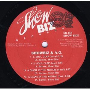 製造国 : US  リリース年 : 1991  レーベル : Showbiz Records  品番...