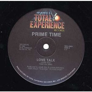 "PRIME TIME - LOVE TALK 2x12"" US 1984年リリース"