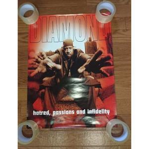 DIAMOND - HATRED, PASSIONS AND INFIDELITY (ポスター) POS US 1997年リリース