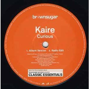 KAIRE - CURIOUS / WANT TO BE WITH YOU 12