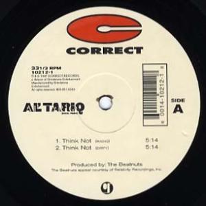 "AL 'TARIQ - THINK NOT / PEACE AKKI 12"" US 1996年リリー..."