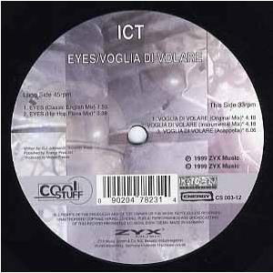 """ICT - EYES 12"""" GER 1999年リリース"""