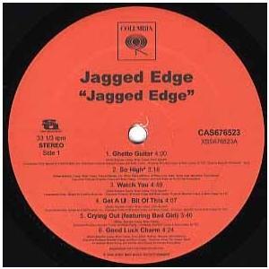 JAGGED EDGE - JAGGED EDGE-ALBUM SAMPLER (12曲収録) EP...