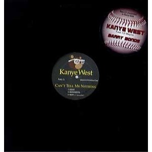 KANYE WEST feat Lil Wayne - BARRY BONDS / CAN'T TE...