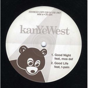 KANYE WEST feat Mos Def, T-Pain - Good Night / Goo...