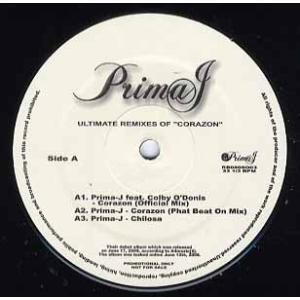 PRIMA-J / RAVEN-SYMONE - Ultimate Remixes Of Coraz...