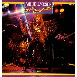 MILLIE JACKSON - LIVE AND UNCENSORED 2xLP US 1979年...